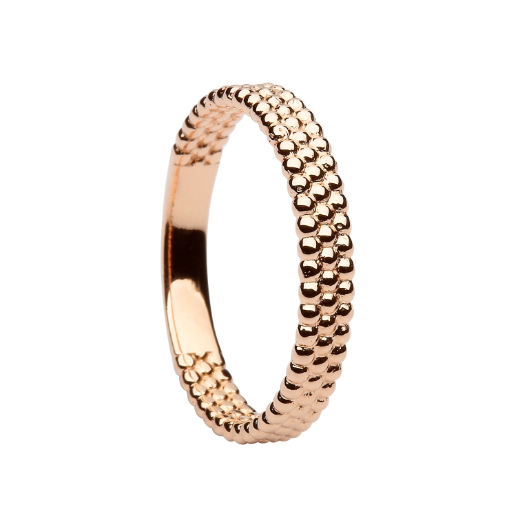 Shamrock Stacking Ring rose gold