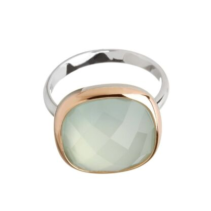 Blue Chalcedony Ring